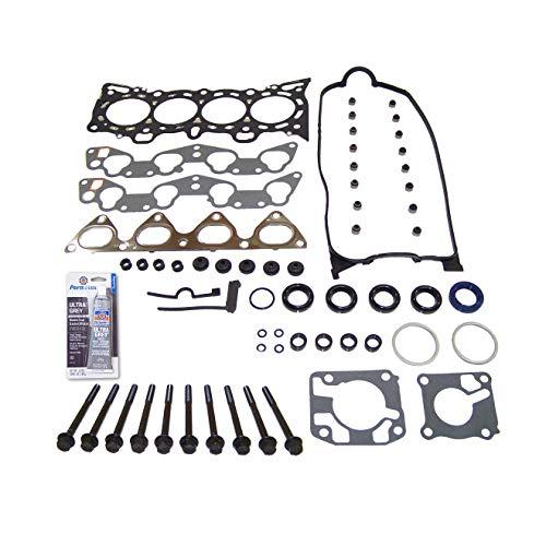 Head Gasket Set Bolt Kit Fits: 92-95 Honda Civic VX 1.5L SOHC 16v VTEC D15Z1 D16Z6