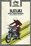 img - for Suzuki service-repair handbook, 380-750cc triples, 1972-1975 book / textbook / text book