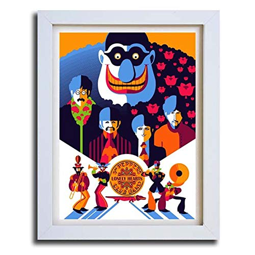The Beatles Yellow Submarine Vintage Movie Poster Art Print Maxi A1 A2 A3 A4