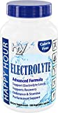 Electrolyte Pills– Helping w/Dehydration, Muscle cramping, Performance & Rapid Recovery. Vegetarian Capsules with Magnesium, Potassium, Sodium & Calcium from Happy Hour Vitamins For Sale