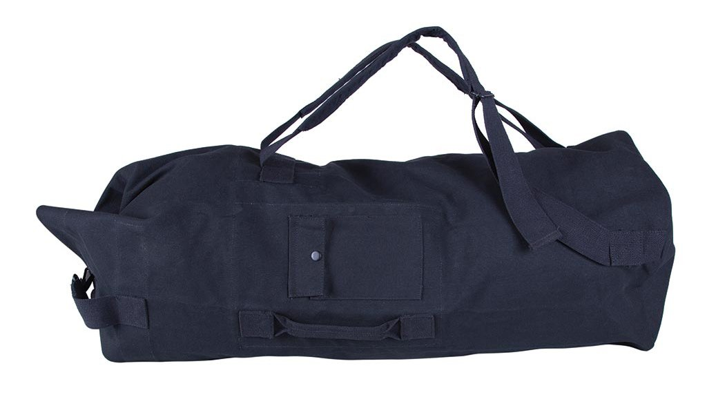 Stansport Double Strap Canvas Bag, 22 x 38-Inch, Black Stansport (Outdoors) 1199