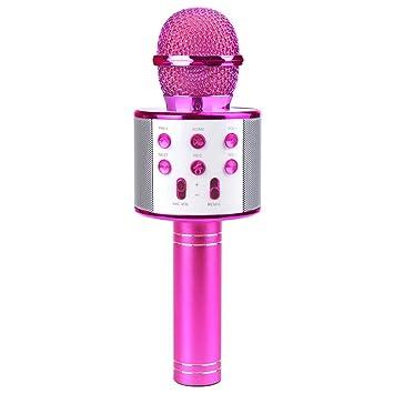 Tmox Fiesta De Micrófono Inalámbrico Bluetooth Karaoke - Mejor Regalo