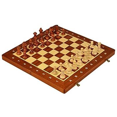 Chess Folding Tournament Nr 4 - Staunton Chess Board Game