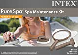 Intex PureSpa Hot Tub Maintenance Accessory Kit w/Brush +Skimmer +Srubber 28004E