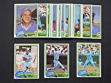 Atlanta Braves 1981 Topps Master Team Set w/ Year-End Traded Cards (29 Cards)**(and receive a FREE Hank Aaron 1957 REPRINT Card)** Doyle Alexander, Brian Asselstine, Bruce Benedict, Tommy Boggs, Larry Bradford, Jeff Burroughs, Rick Camp, Chris Chambliss, Gene Garber, Luis Gomez, Preston Hannah, Bob Horner, Al Hrabosky, Glenn Hubbard, Mike Lum, Gary Matthews, Rick Matula, Larry McWilliams, John Montefusco, Dale Murphy, Phil Niekro, Gaylord Perry, Jerry Royster, Bob Walk and Claudell Washington.**