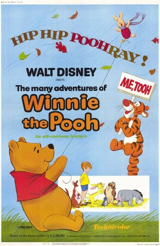 Amazoncom Many Adventures Of Winnie The Pooh Poster Movie 11 X 17