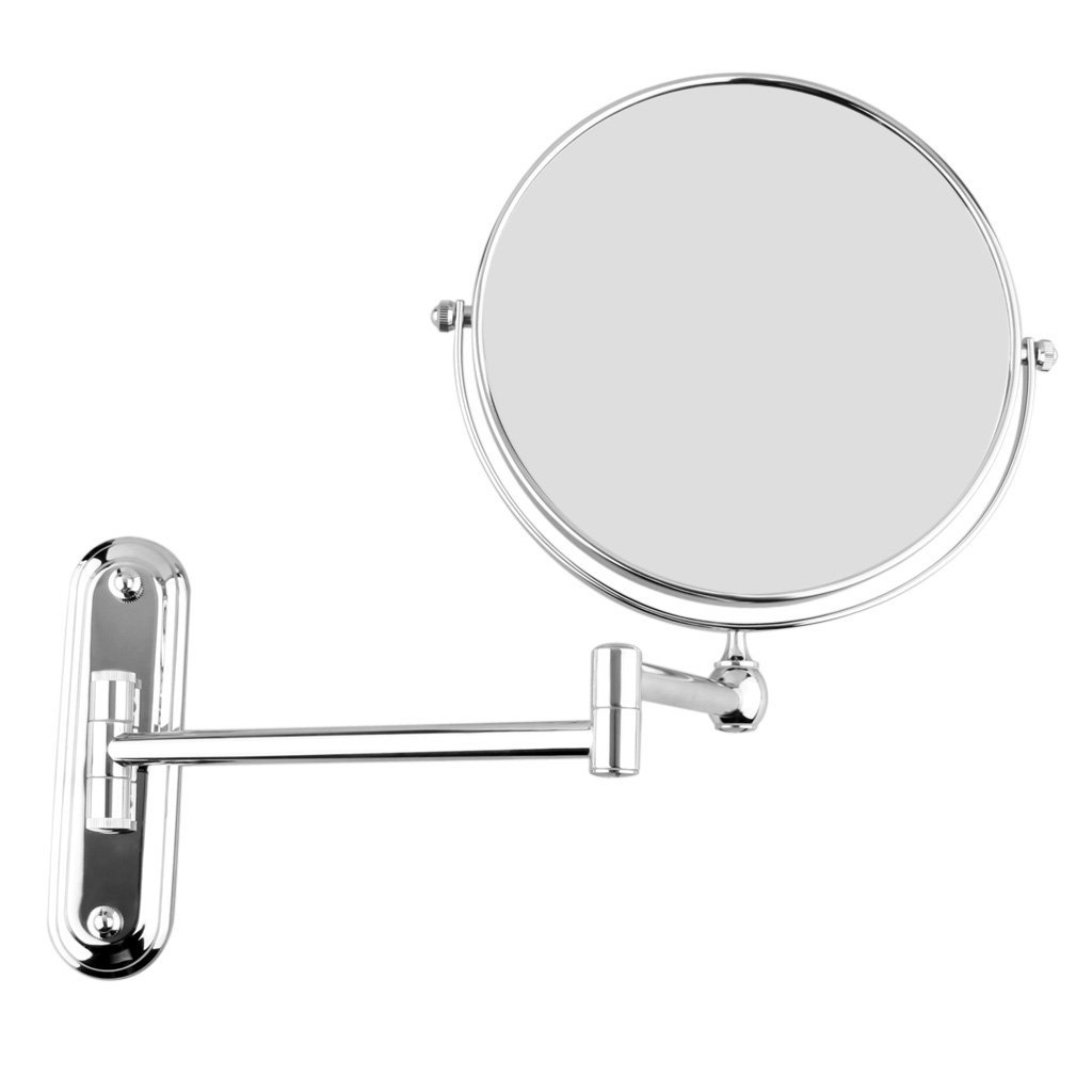 Amazoncom Sodial Silver Extending 8 Inches Cosmetic Wall Mounted