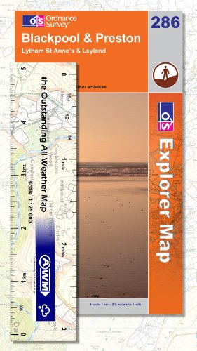 Explorer Map 286: Blackpool and Preston