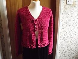 No 8 Crocodile Stitch Summer Cardigan (mrs crochet designer) by [Shears, Tracey Ann]