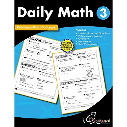 Daily Math Grade 3 (Chalkboard Publishing Workbooks)