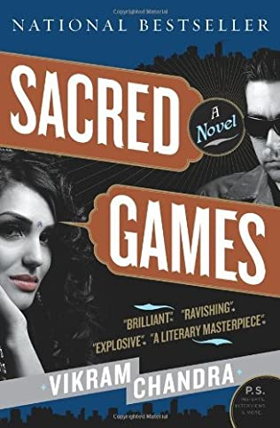 book cover of Sacred Games