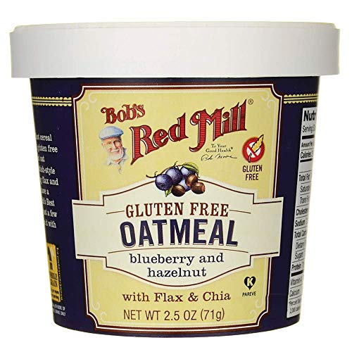 Bobs Red Mill Oatmeal Cup Hazelnut Blueberry, 2.5 ()
