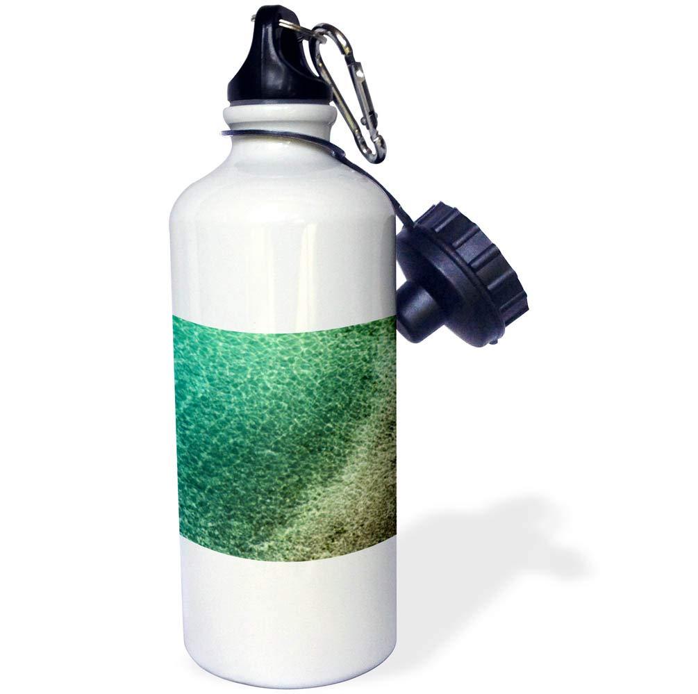 3dRose Elysium Photography - Seascape - Mediterranean sea at Sorrento, Italy - 21 oz Sports Water Bottle (wb_289611_1)