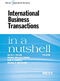 Folsom, Gordon, Spanogle and Van Alstine's International Business Transactions in a Nutshell, 9th