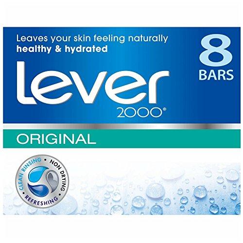 (Lever 2000 Bar Soap Original 4 oz, 8 Bar)