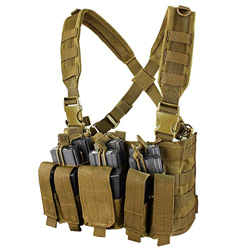 Condor Recon Chest Rig Coyote, Brown, 30'' - 60'' by CONDOR