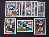 Buffalo Bills 1992 Topps Master team Set w/ High Numbers (AFL Champions) Don Beebe, Cornelius Bennett, Jim Kelly, Andre Reed, Frank Reich, Bruce Smith, Steve Tasker, Thurman Thomas, and More