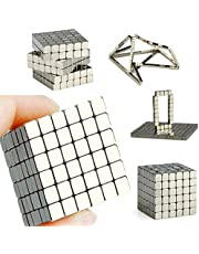 JJFDC 216pcs 3 * 3 * 3 mm Toy magnet square cube Strong magnetic rare earth magnet jewelry neodymium magnet powerful magnet