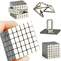 JJFDC 216pcs 3 * 3 * 3 mm Toy magnet square cube Strong magnetic rare earth magnet jewelry neodymium magnet powerful…