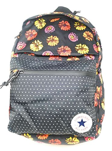 Amazon.com  Converse Mens Chuck Plus 1.0 Poly Laptop Backpack Black Floral   Computers   Accessories 0740fa9699