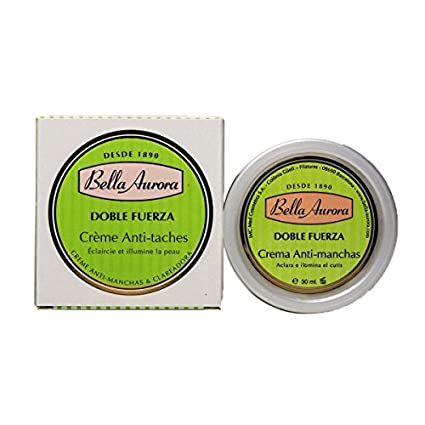 Crema Anti-Manchas Bella Aurora Doble Fuerza 30ml.