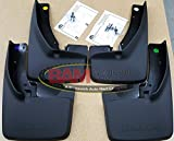 ram mud flaps - Dodge Ram with Fender Flares Front and Rear Deluxe Molded Splash Guards Mud Flaps