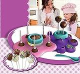 kids baking toys - AMAV Cake Pops Maker Toy Activity Set Using Microwave Baking - DIY Make Your Own Delicious Treat - Edible Sweet Art