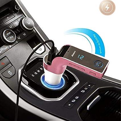 Bluetooth coche mechero Multifuncional cargador de coche de ...