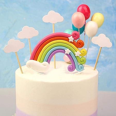 Bandera arcoíris para decoración de tartas, fiesta de ...