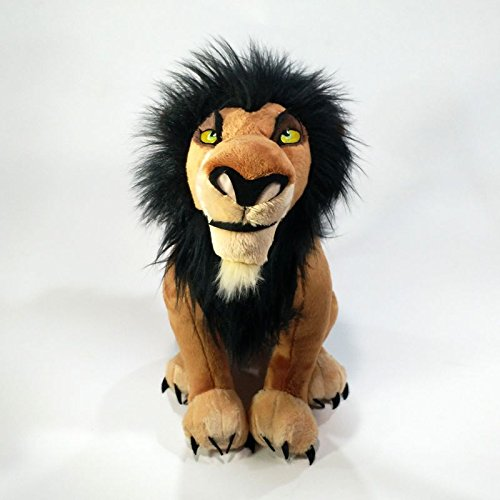 WATOP Stuffed Animals - Teddy Bears| The Lion King Scar Plush Toy Soft Stuffed Animals 34cm Boys Kids Toys for Children Gifts