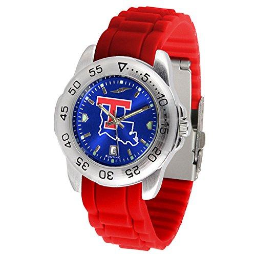 Louisiana Watch Bulldogs Tech Sport (Louisiana Tech Bulldogs Sport Silicone Men's Watch)
