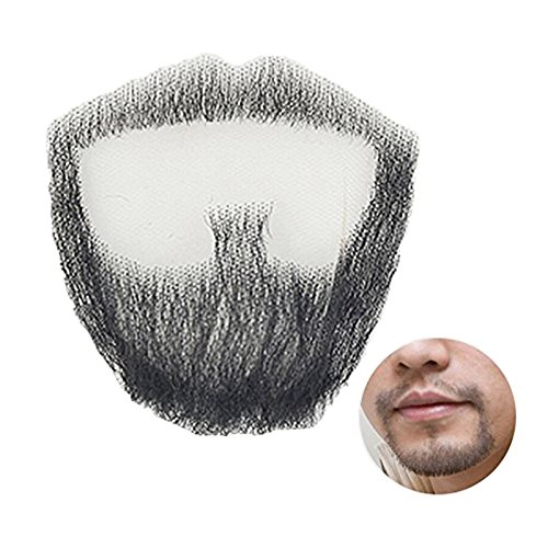 Igennki Men's Professional 100% Human Hair Hand Tied Fake Mustache Beard RM-1002 by igennki