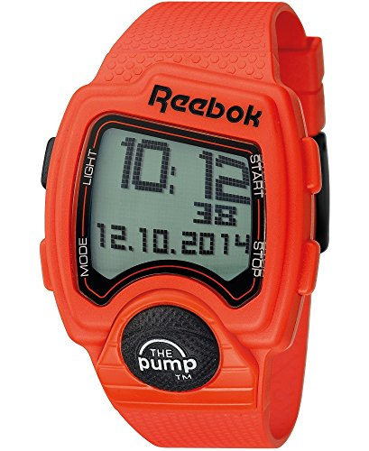 Reebok Men's Pump PL Digital Watch Orange RC-PLI-G9-POPO-OB