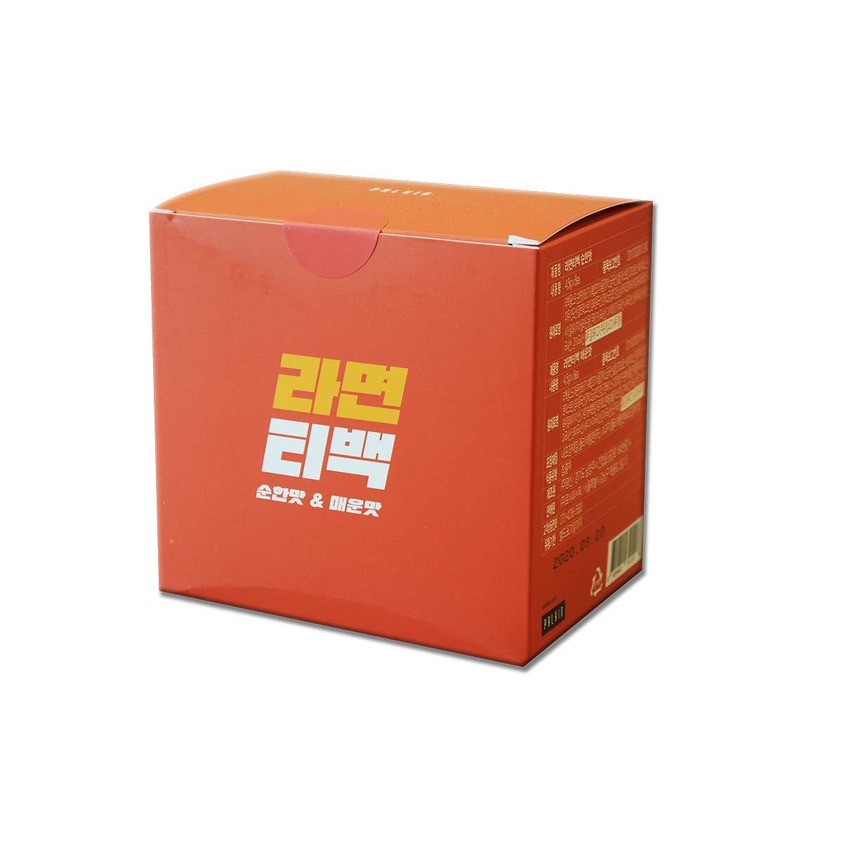 [Palkin] Korea Ramen Tea Bag 16ea (8 hot&spicy flavors + 8 mild flavors) / Korean food / Korean tea / Korean Ramen / Would you like a cup of ramen? (overseas direct shipment)