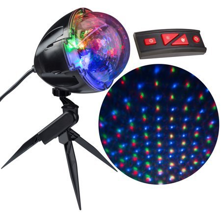 Solayman Tech Christmas Lightshow Projection Points of Light with Remote -114 Programs