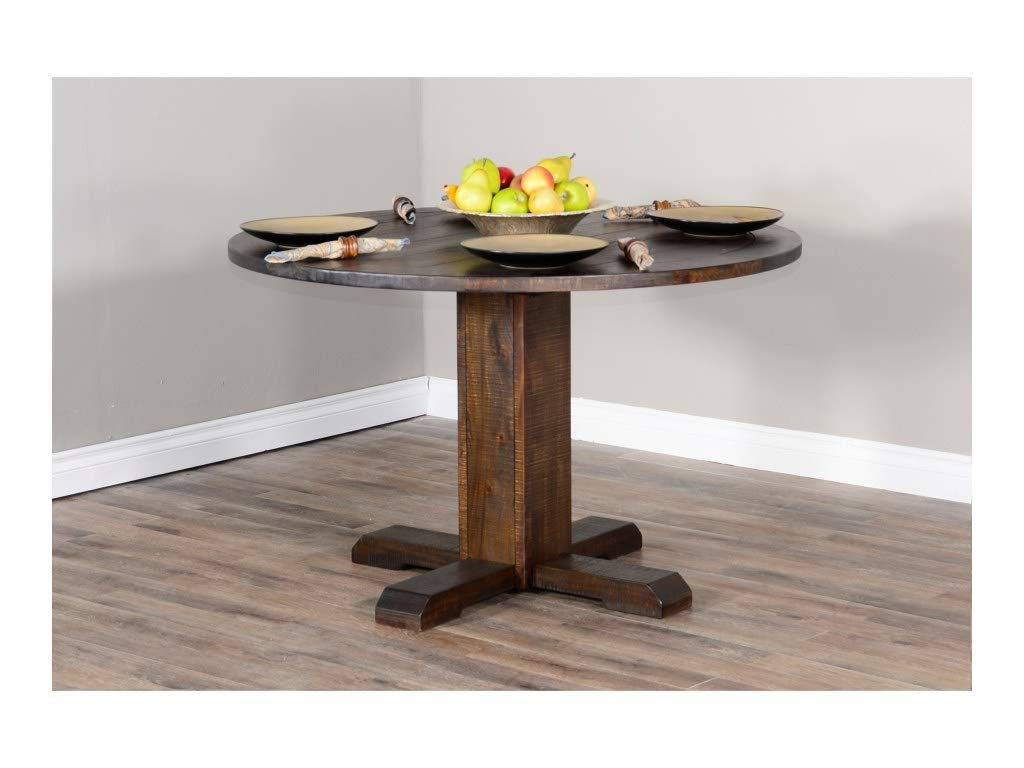 Amazon.com - Sunny Designs Homestead Round Dining Table - Tables