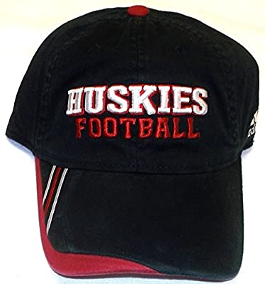 Northern Illinois Huskies Flexfit Hat by Adidas size S/M EQ15Z by Adidas