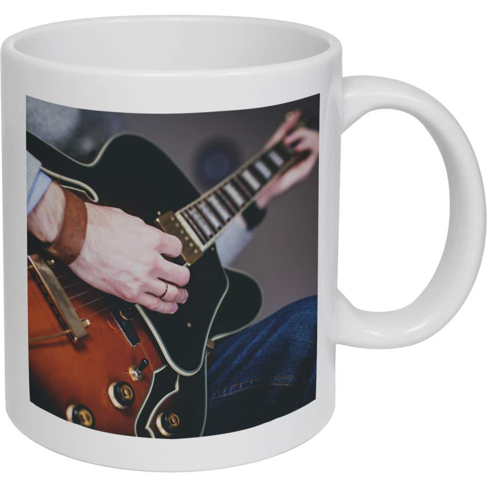 Stamp Press 320ml Tocar la Guitarra Taza de Ceramica (MG00000072 ...