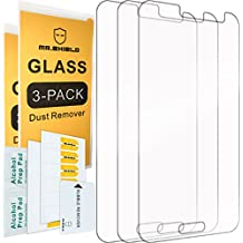 [3-PACK]- Mr Shield For Samsung Galaxy J2 [Tempered Glass] Screen Protector [0.3mm Ultra Thin 9H Hardness 2.5D Round Edge] with Lifetime Replacement Warranty