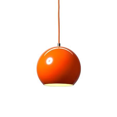 andTRADITION Topan VP6 Pendant Light orange Verner Panton 1959 ...