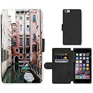 """PU Cuir Flip Etui Portefeuille Coque Case Cover véritable Leather Housse Couvrir Couverture Fermeture Magnetique Silicone Support Carte Slots Protection Shell // F00001722 yashicamat // Apple iPhone 6 4.7"""""""