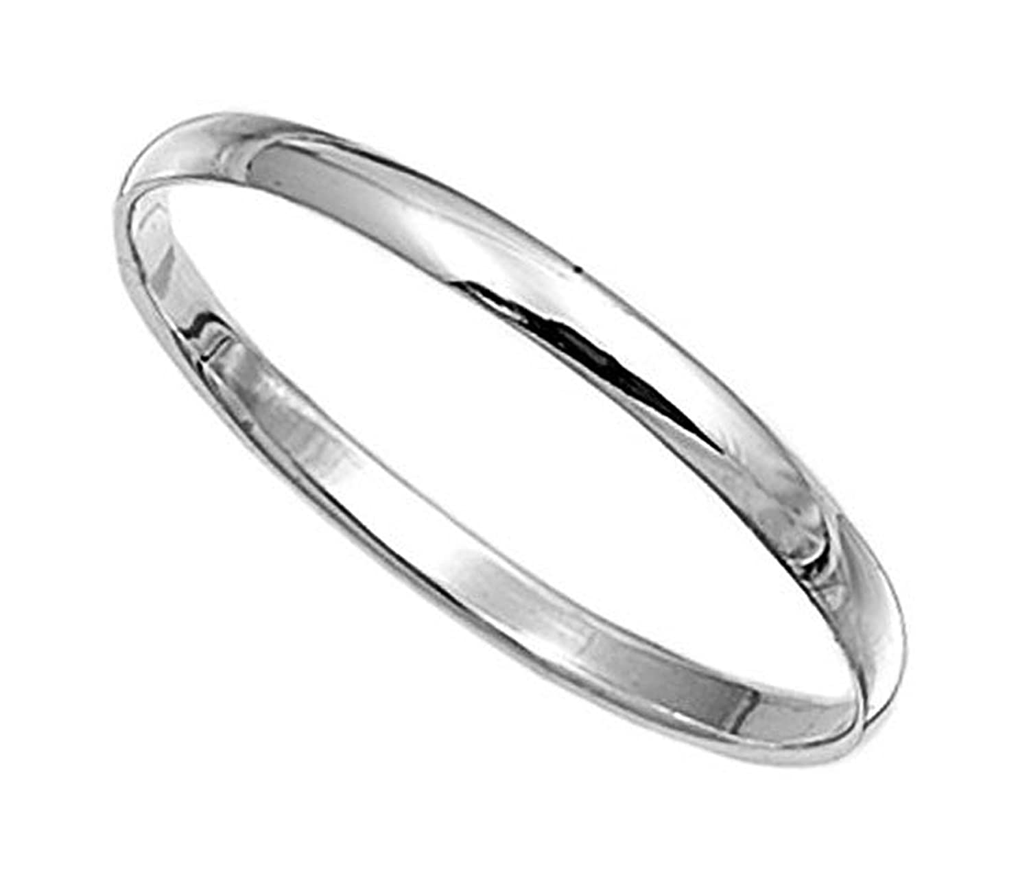 Amazoncom Sterling Silver Wedding Band Ring 2mm Jewelry