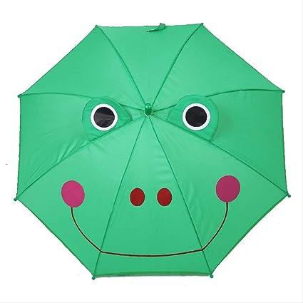 LZBDKM Paraguas Paraguas para niños de Dibujos Animados en ...