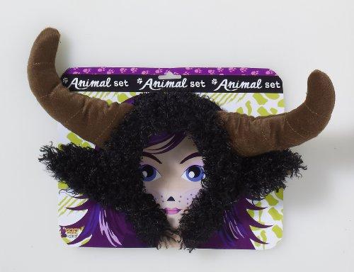 Forum Novelties Unisex Playful Animals Bull Costume Accessory Set, Multi, One size - Cow Costumes On Sale