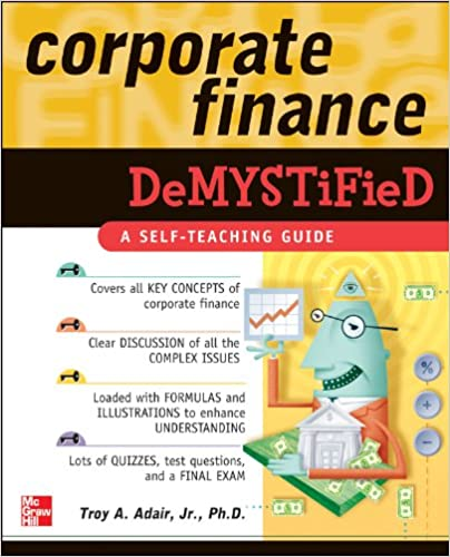 Amazon corporate finance demystified ebook troy adair kindle corporate finance demystified 1st edition kindle edition fandeluxe Gallery