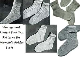 Amazon.com: Padrões de tricô vintage e exclusivo para