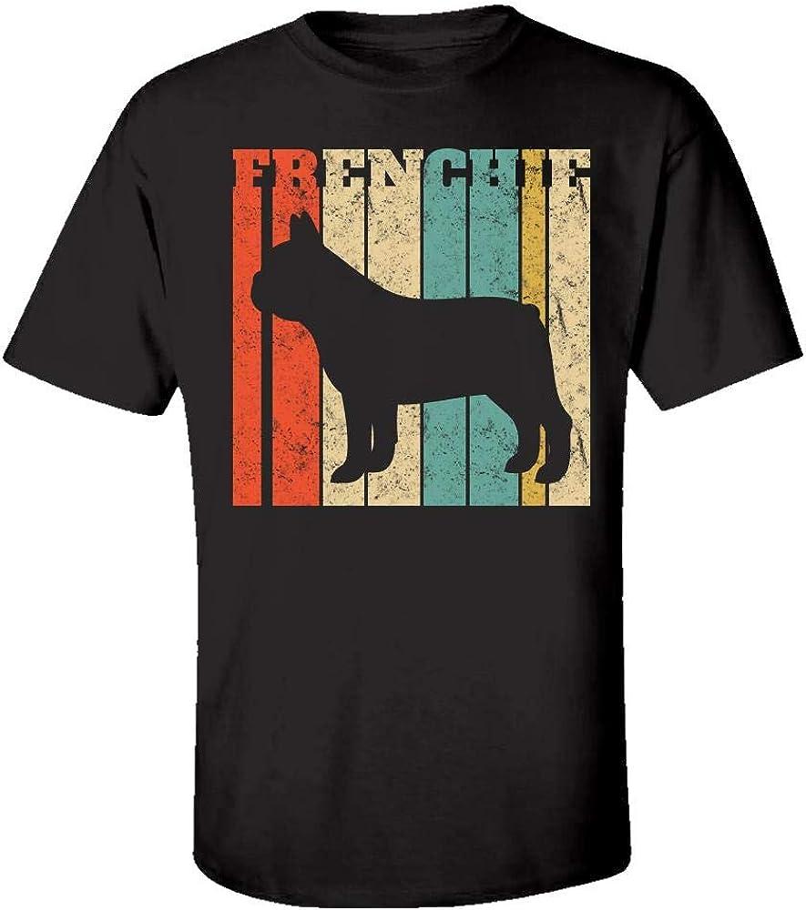 Kids T-Shirt French Bulldog Retro Frenchie Vintage Distressed
