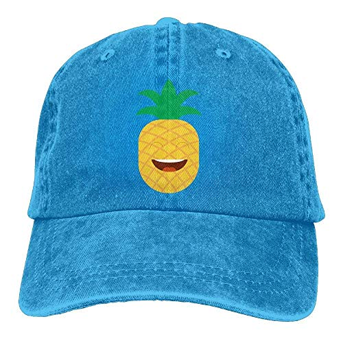 Skull Hat Denim Cowgirl Pineapple Women Men for Hats Sport Cap DEFFWB Cowboy Smail dHqIZww