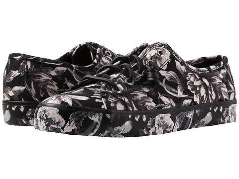 エジプト続編教義(スペリートップサイダー) SPERRY TOPSIDER レディースウォーキングシューズ?カジュアルスニーカー?靴 Seacoast Print Black/White Print/Floral 6.5 23.5cm M (B) [並行輸入品]