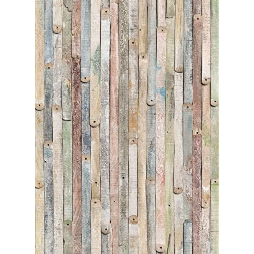 Komar 4 910 Vintage Wood 4 Panel Wall Mural